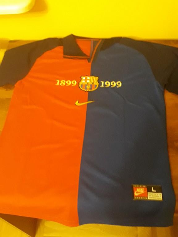 911538243 FC Barcelona 99/00 koszulka retro unikat - 7112673607 - oficjalne ...
