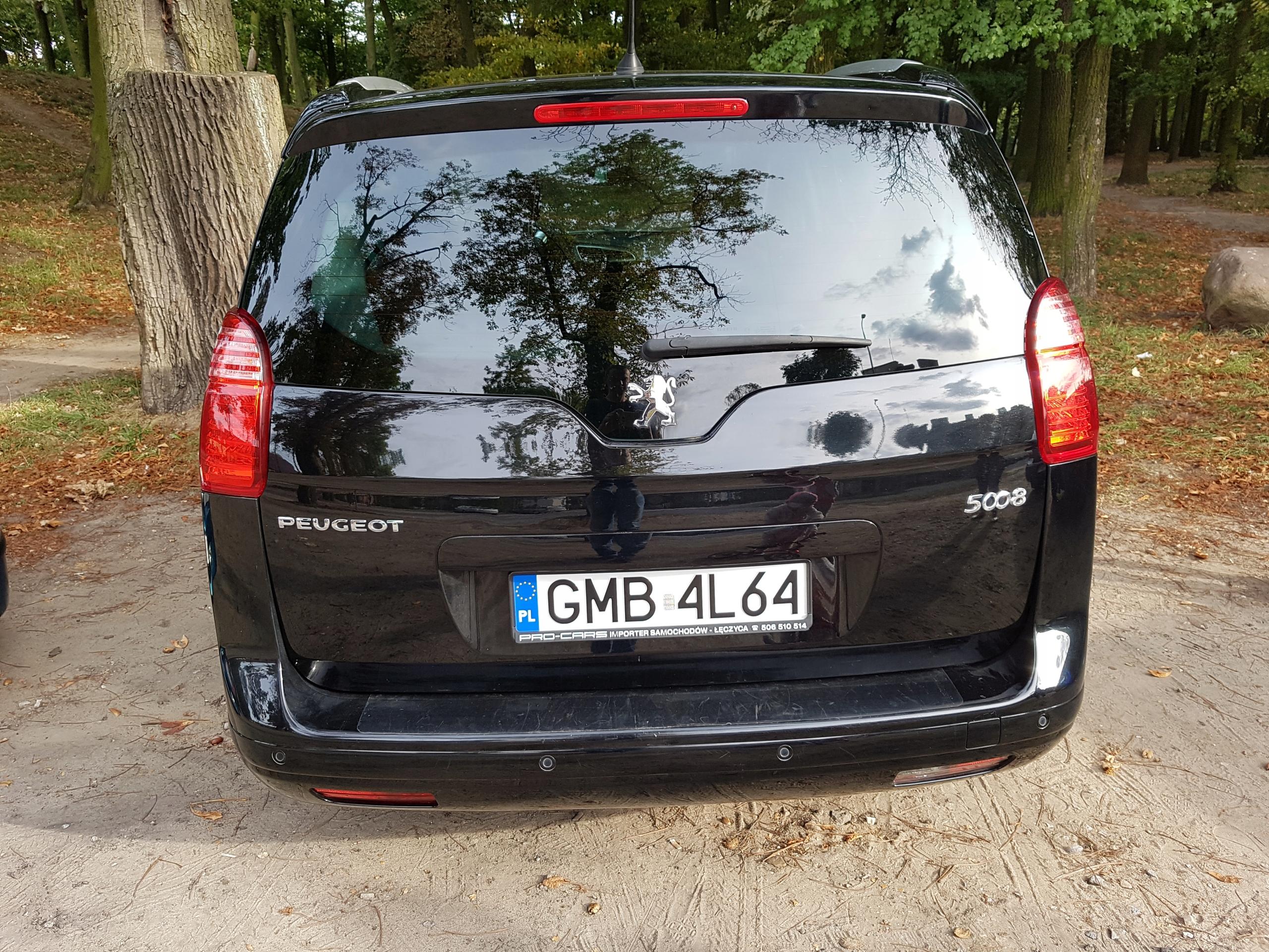 Peugeot 5008 1 6 benzyna 2011/2012 W Niskiej Cenie