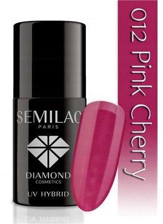 SEMILAC UV LAKIER HYBRYDOWY 012 PINK CHERRY 7ml