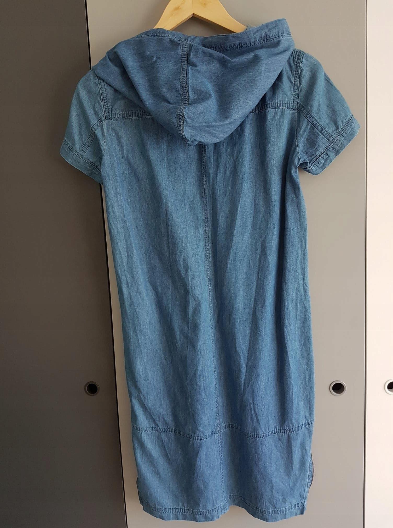 d6e974cc TATUUM - sportowa, jeansowa sukienka rozm 34 - 7458078491 ...