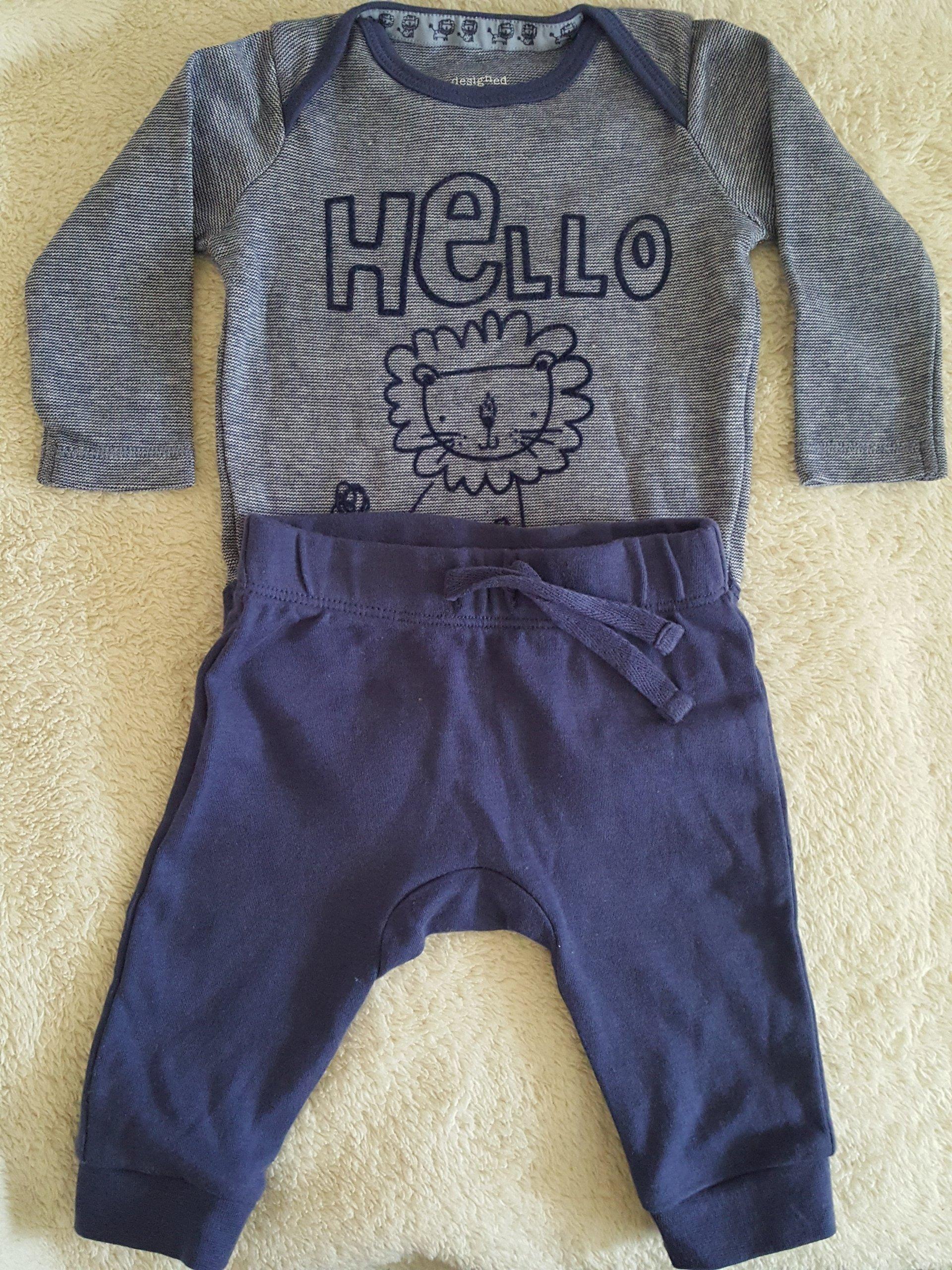 Komplet dziecięcy, ,F&F, Body, Spodnie