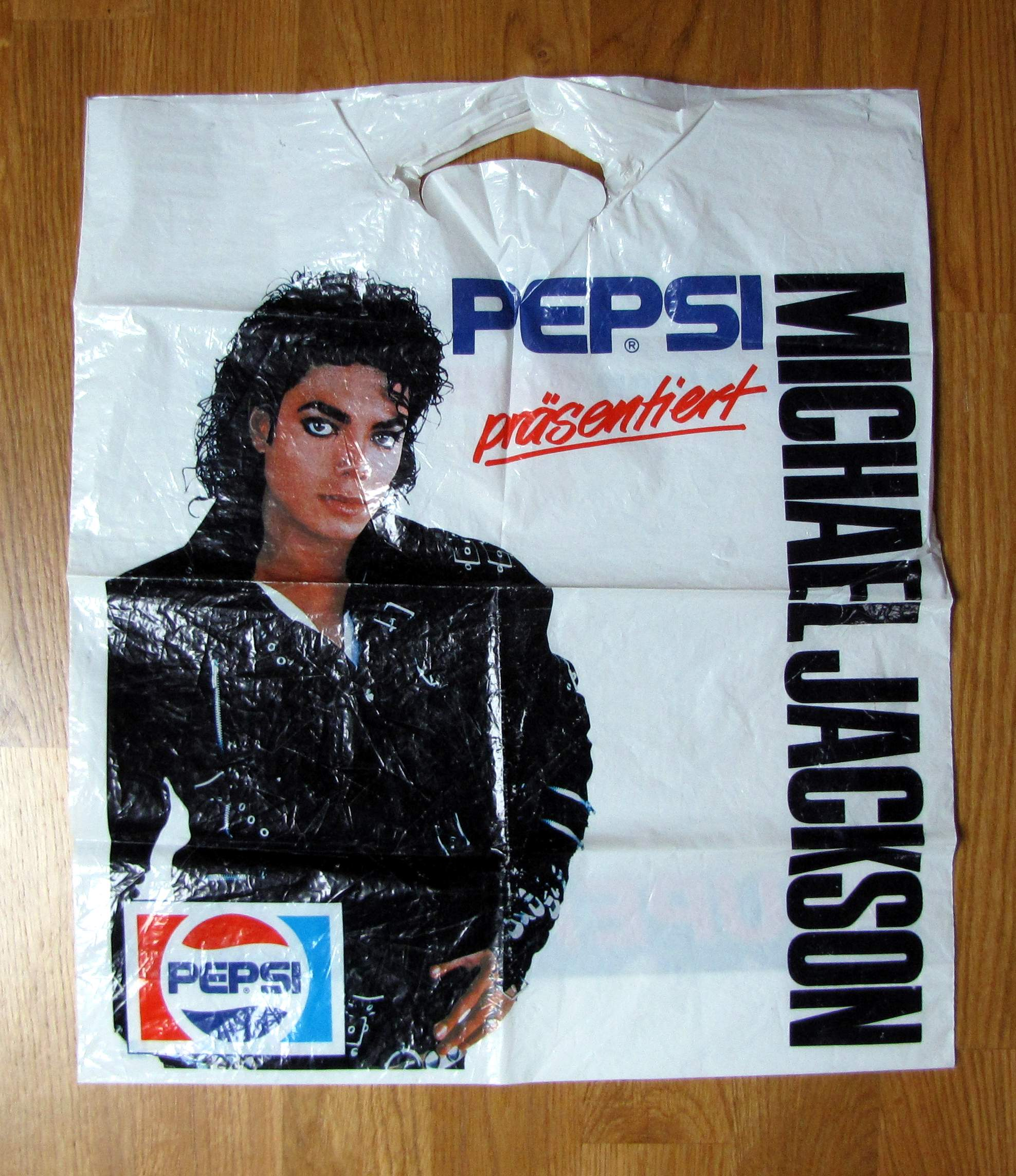 Michael Jackson Foliowa Torba Reklamowa Pepsi