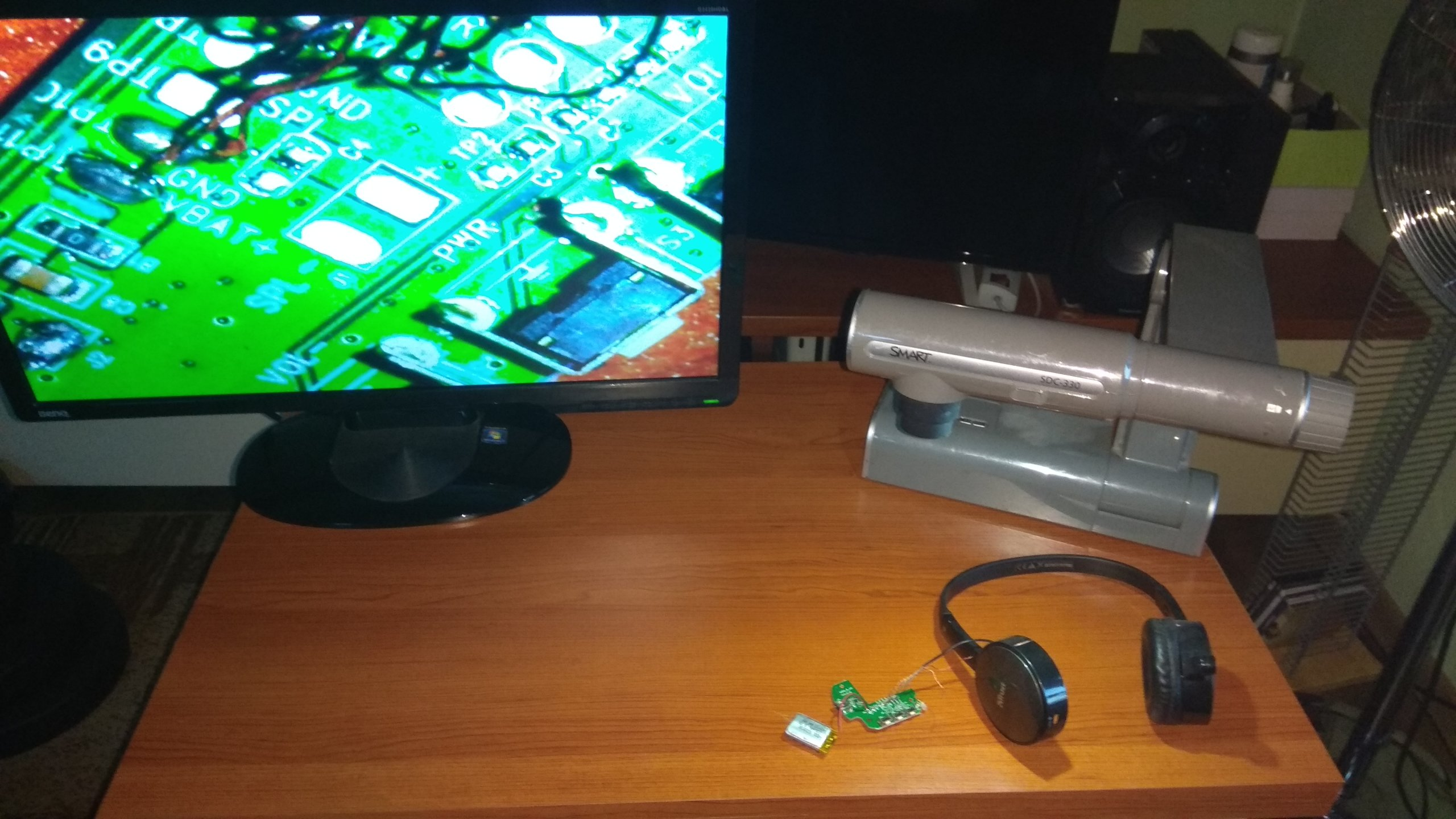Mikroskop cyfrowy techniczny elektronika lutowanie