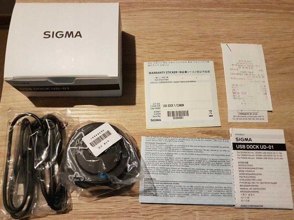 Canon SIGMA USB DOCK UD-01 IDEALNA