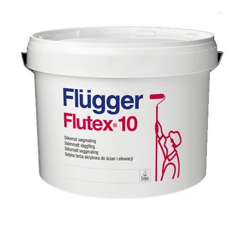 Flugger Farba Flutex 10 Biala Satyna 4 9l 7032417011 Oficjalne