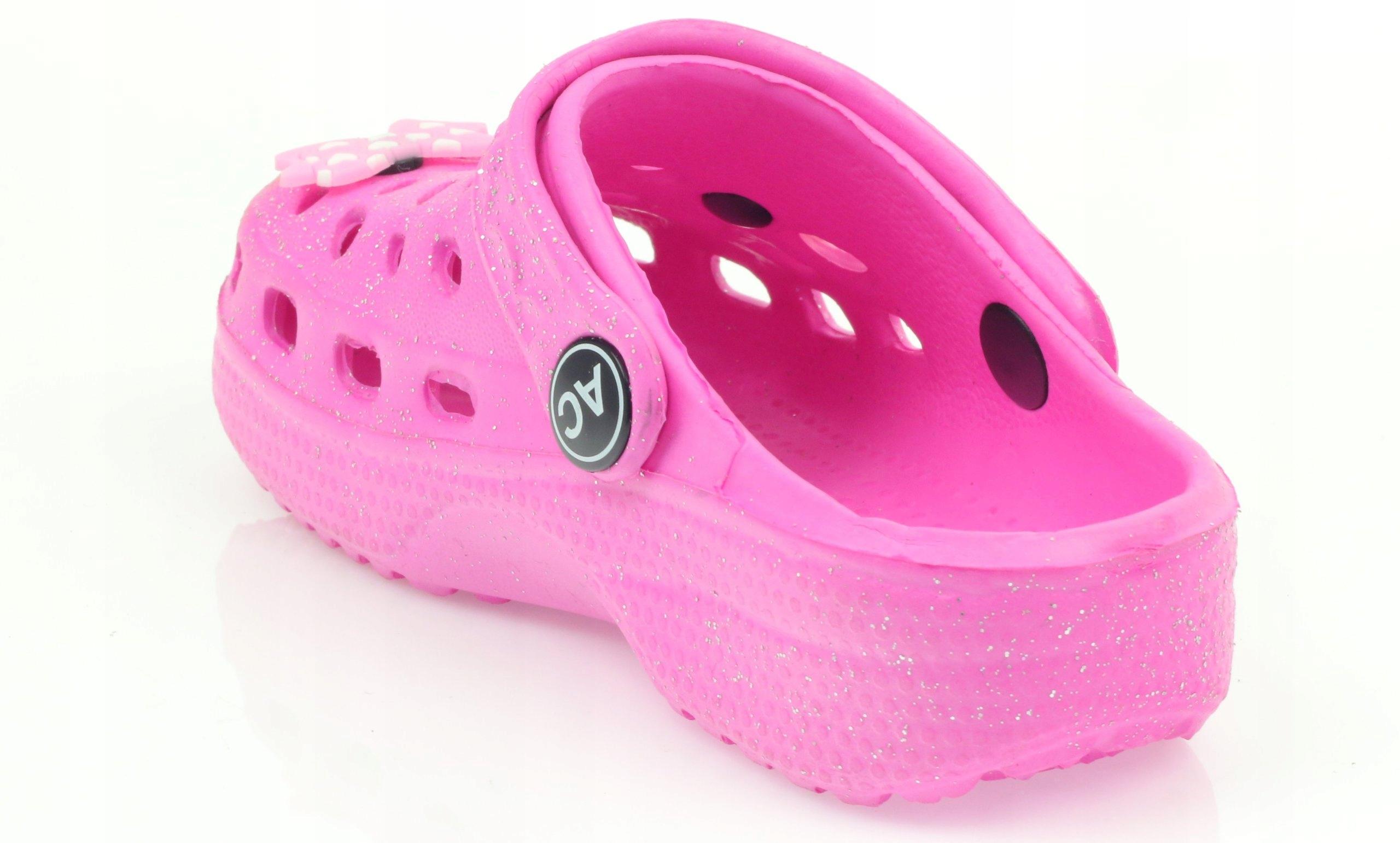 Crocs klapki kroksy różowe American r.30 - 7396561829 - oficjalne ... d2e14a711a