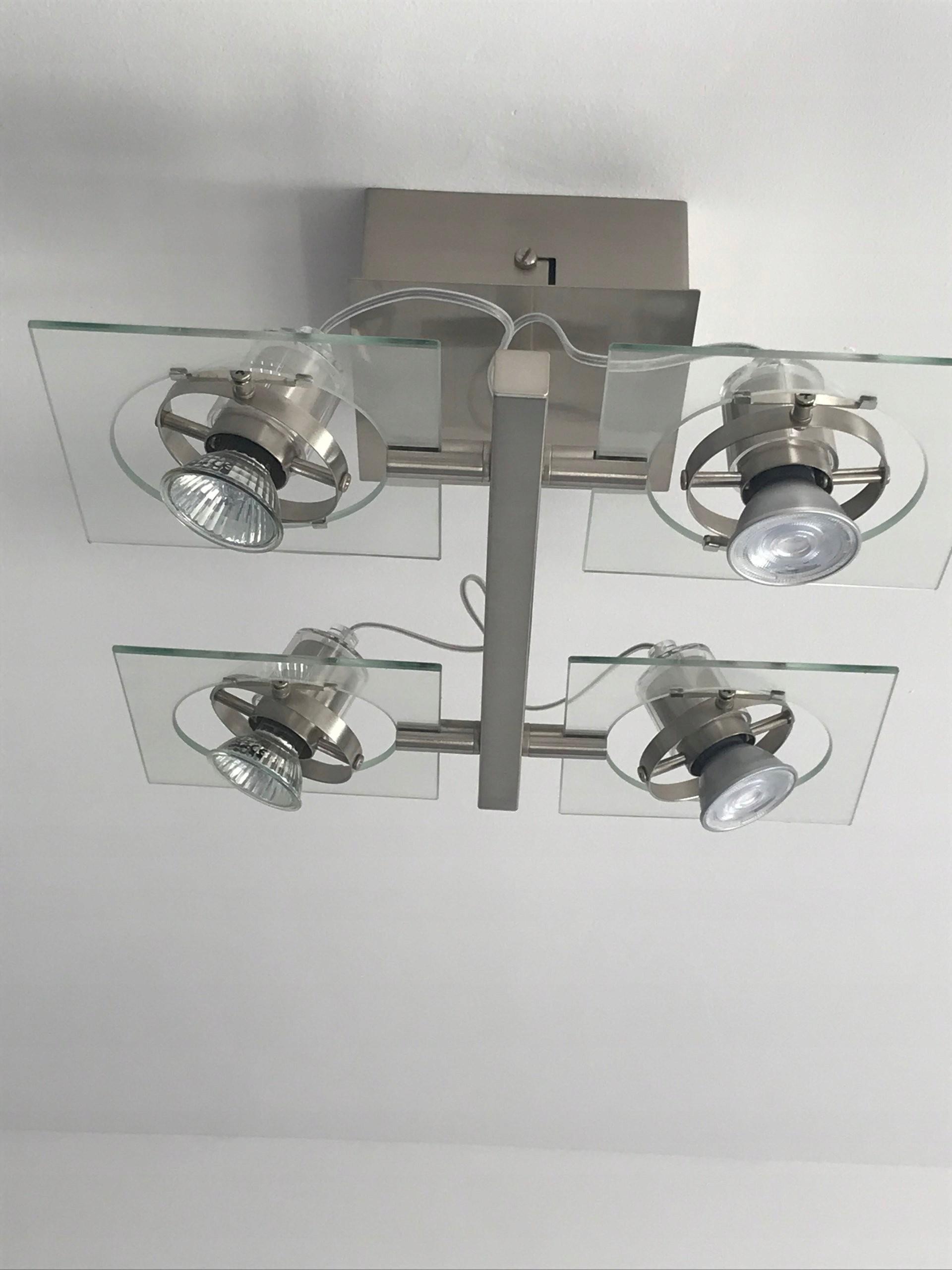 Ikea Fuga Oświetlenie Sufitowe4 Reflektory Chrom