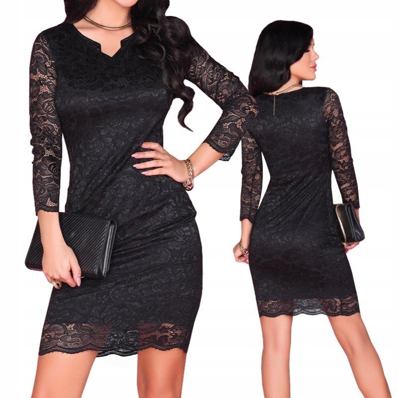 ca35d57b 10391D Merribel sukienka damska koronkowa - 7371127858 - oficjalne ...