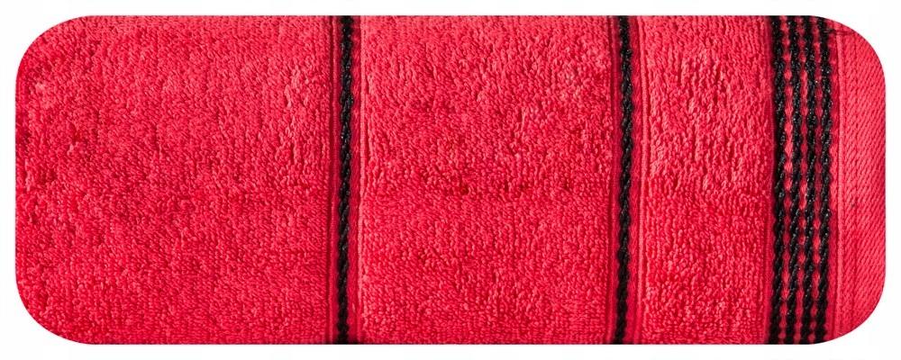 a6fb5438480ad Ręcznik Mira 30x50 czerwony frotte 500 g/m2 - 7232527874 - oficjalne ...