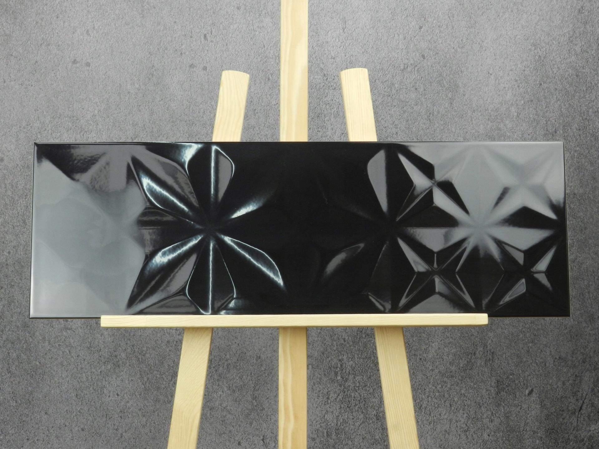Eleganza Black Squares 25x75 Gatii Opoczno 7632574911