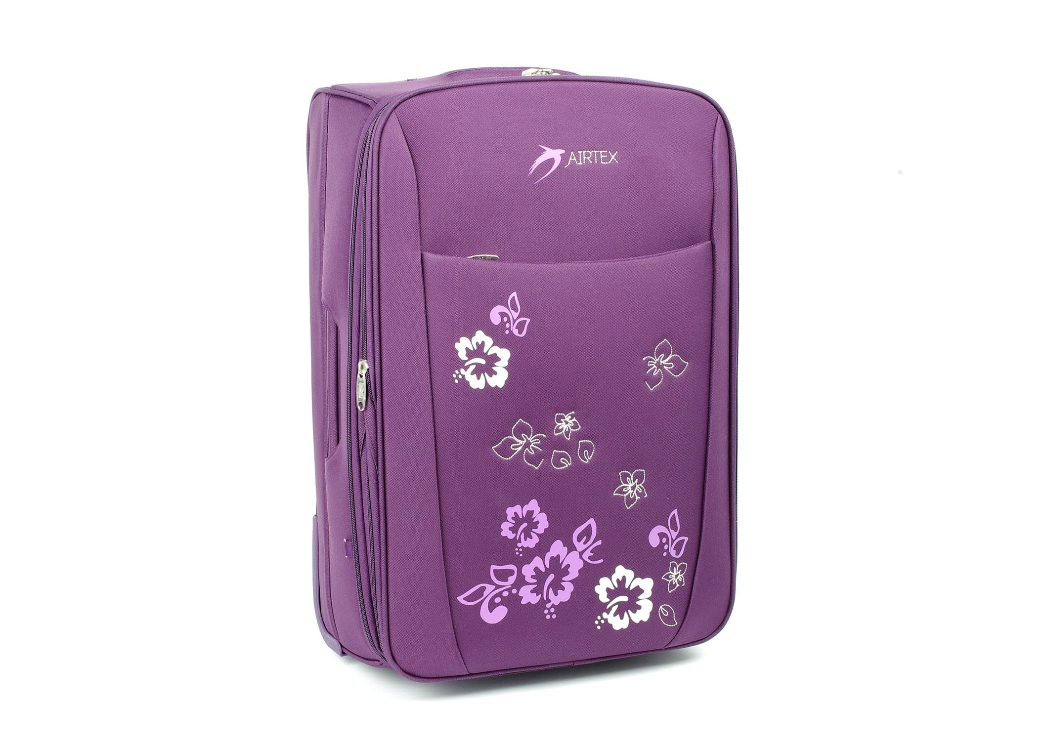 ca2f2cb8636eb Duża walizka podróżna na kółkach lekka Airtex 9154 - 6896932997 ...