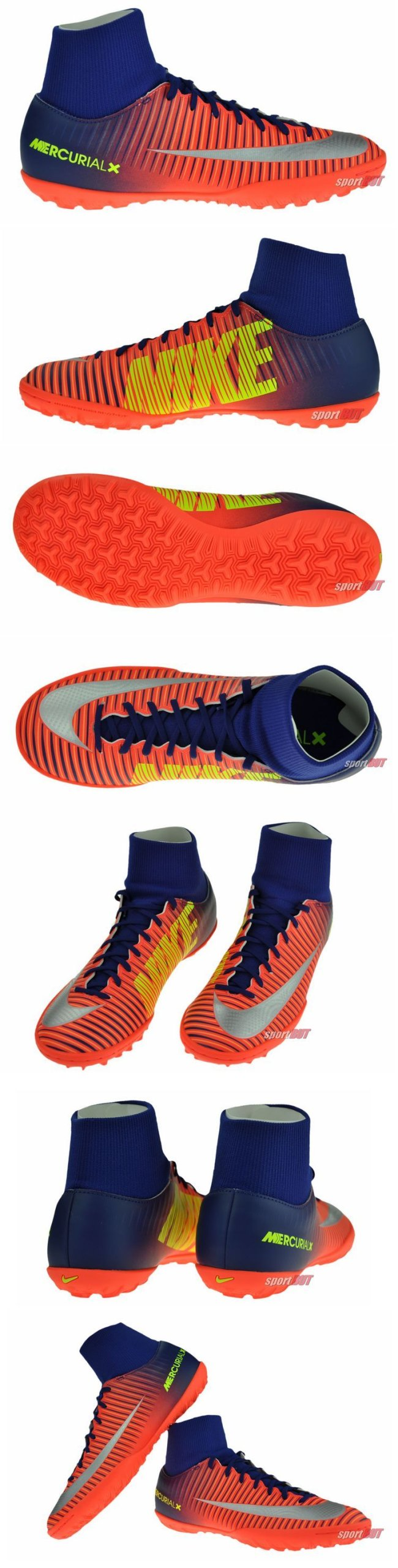 7ea4a0fef Buty Nike MercurialX Victory VI DF TF 409 r. 42 - 7274796919 - oficjalne  archiwum allegro