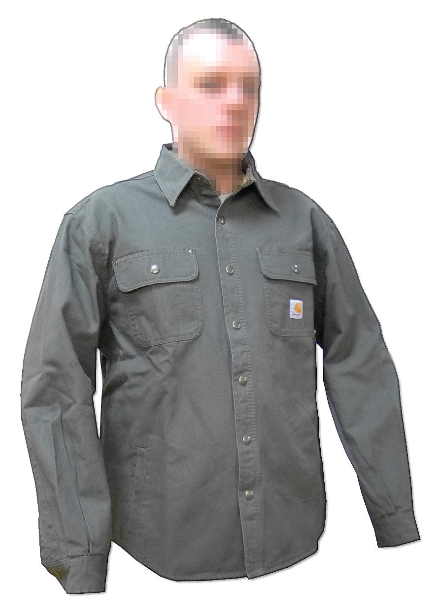Koszula taktyczna HEAVY DUTY Canvas US OD X-LARGE