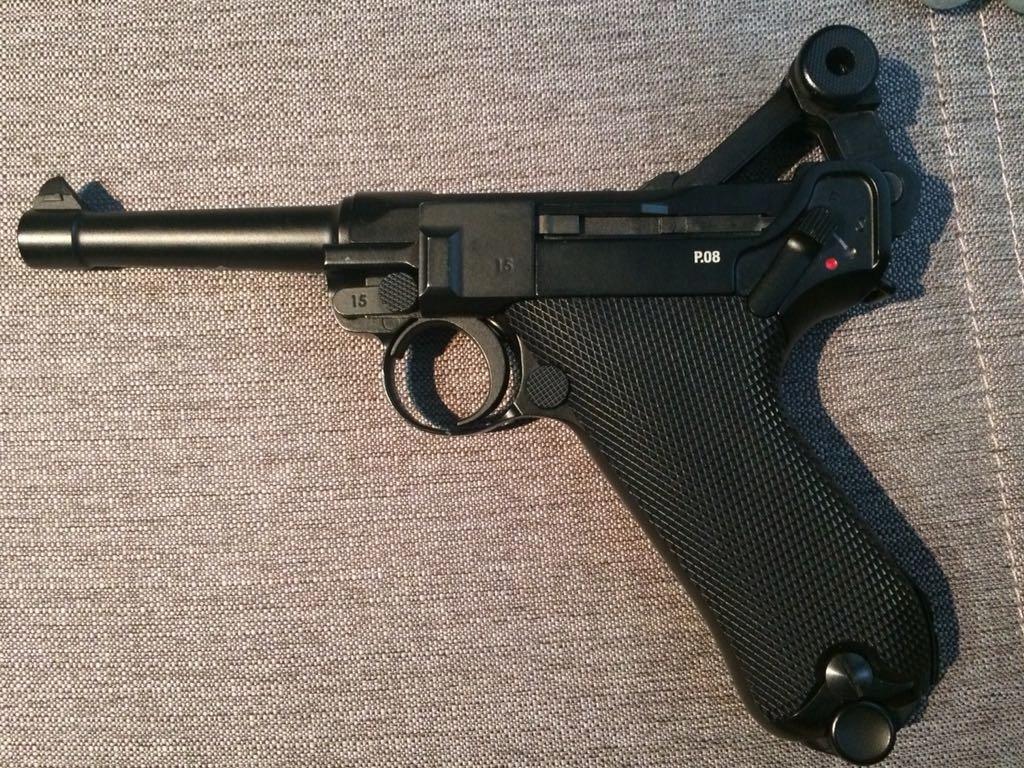 Luger P08 blowback CO2 umarex legends