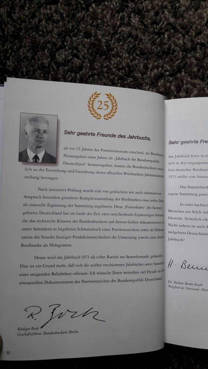 Niemcy Księga Znaków 1998 Znaczki W Hawidach