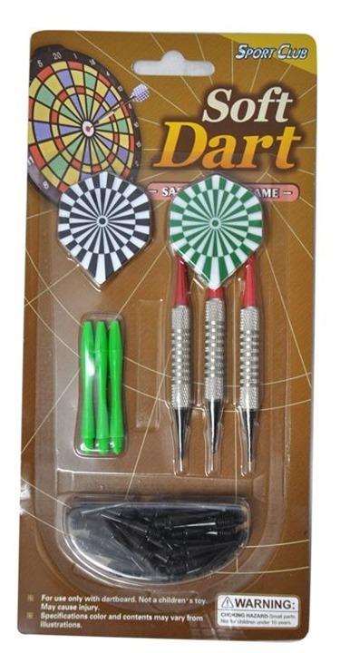 AXER SPORT rzutki do darta lotki plastikowe 11g