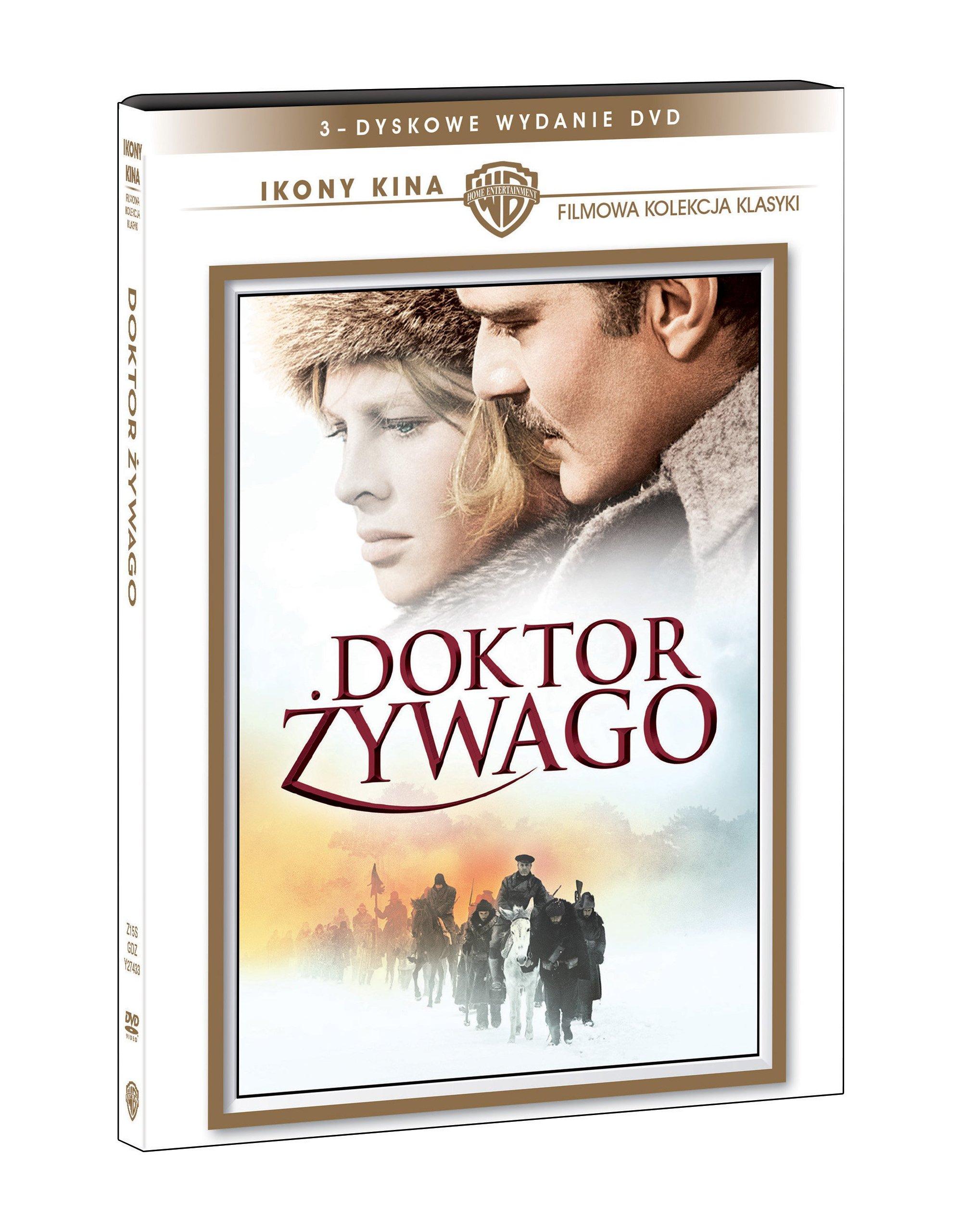 Doktor Żywago (3 DVD) Ikony Kina DVD
