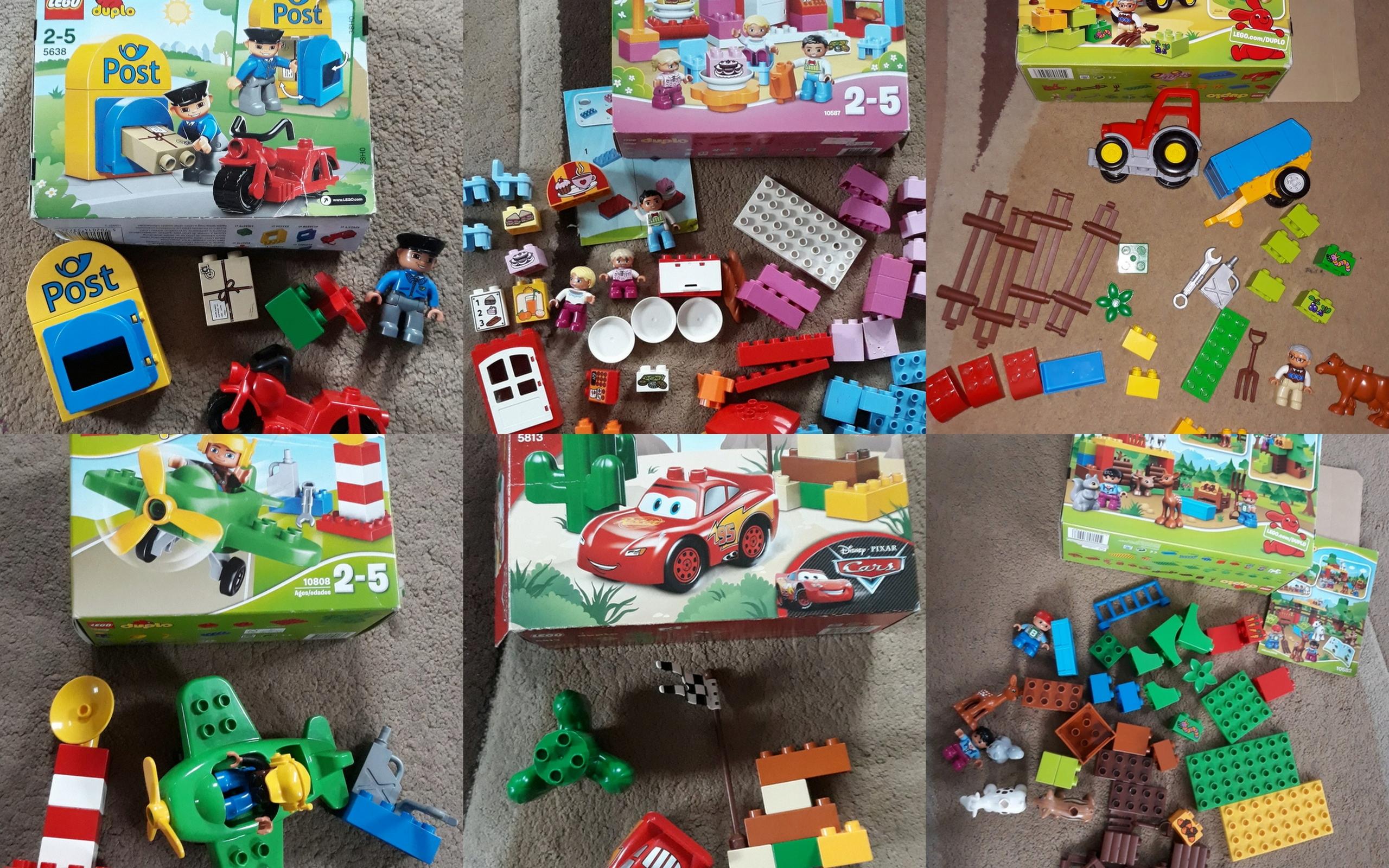Mega Zestaw Klocków Lego Duplo 21 Kompletów 7730681653 Oficjalne