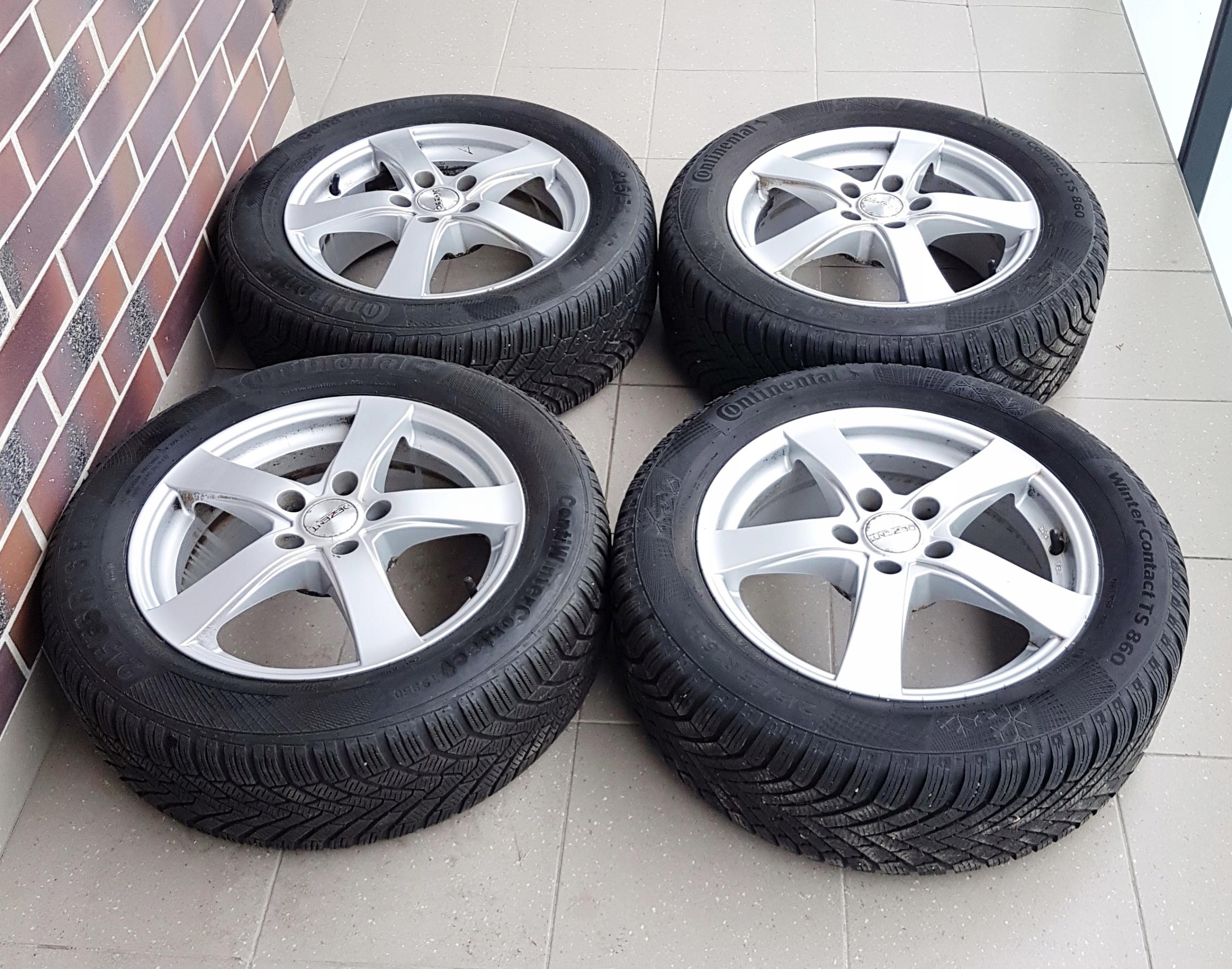 Alufelgi Opony Zimowe 21555r16 Ford 7566509254 Oficjalne