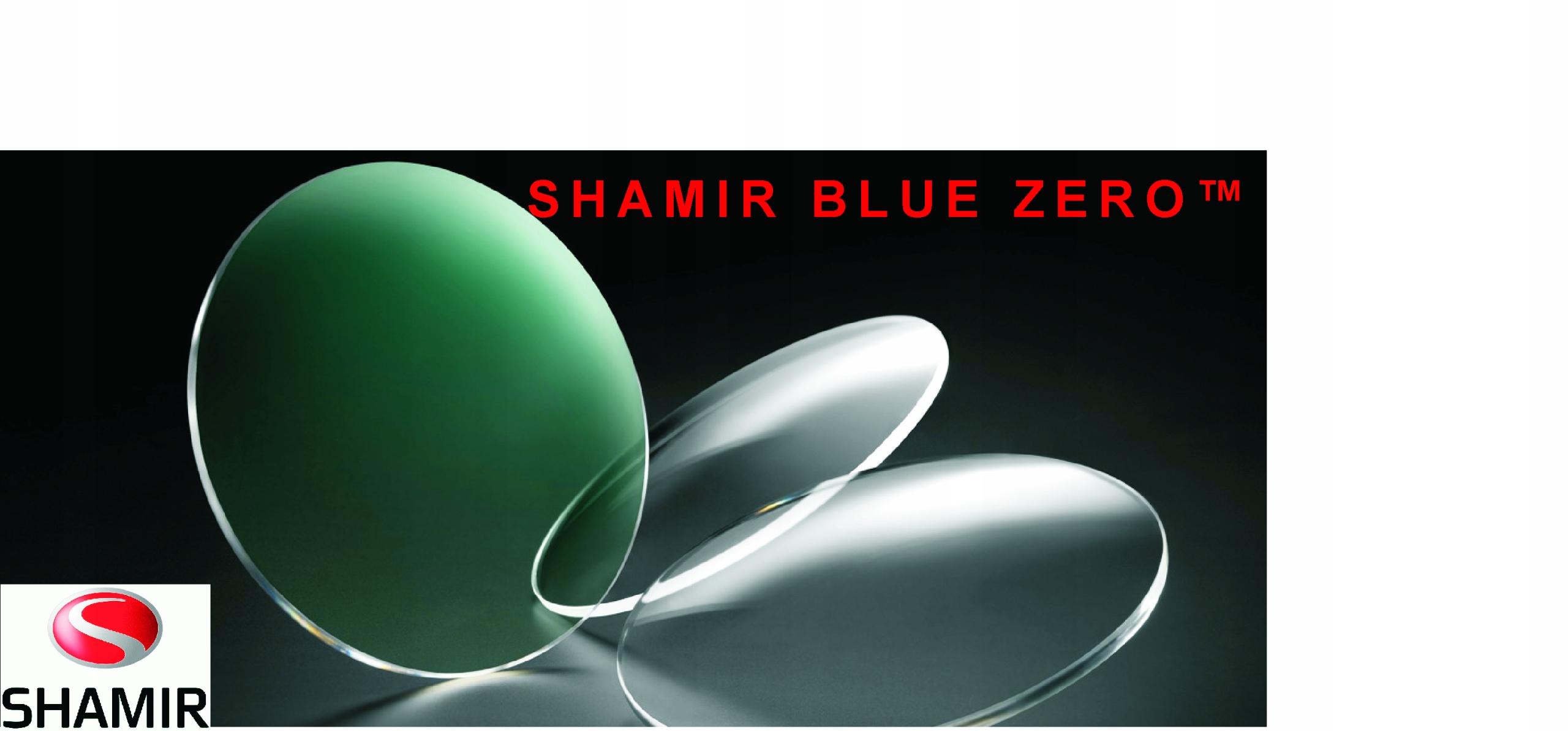 SOCZEWKI OKULAROWE SHAMIR BLUE ZERO