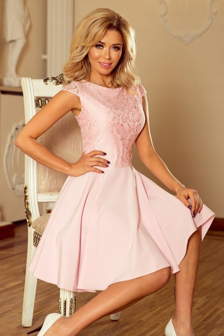 7acf6ee0d9 Sukienka Model Marta 157-4 Pastel Pink - 7627941494 - oficjalne ...