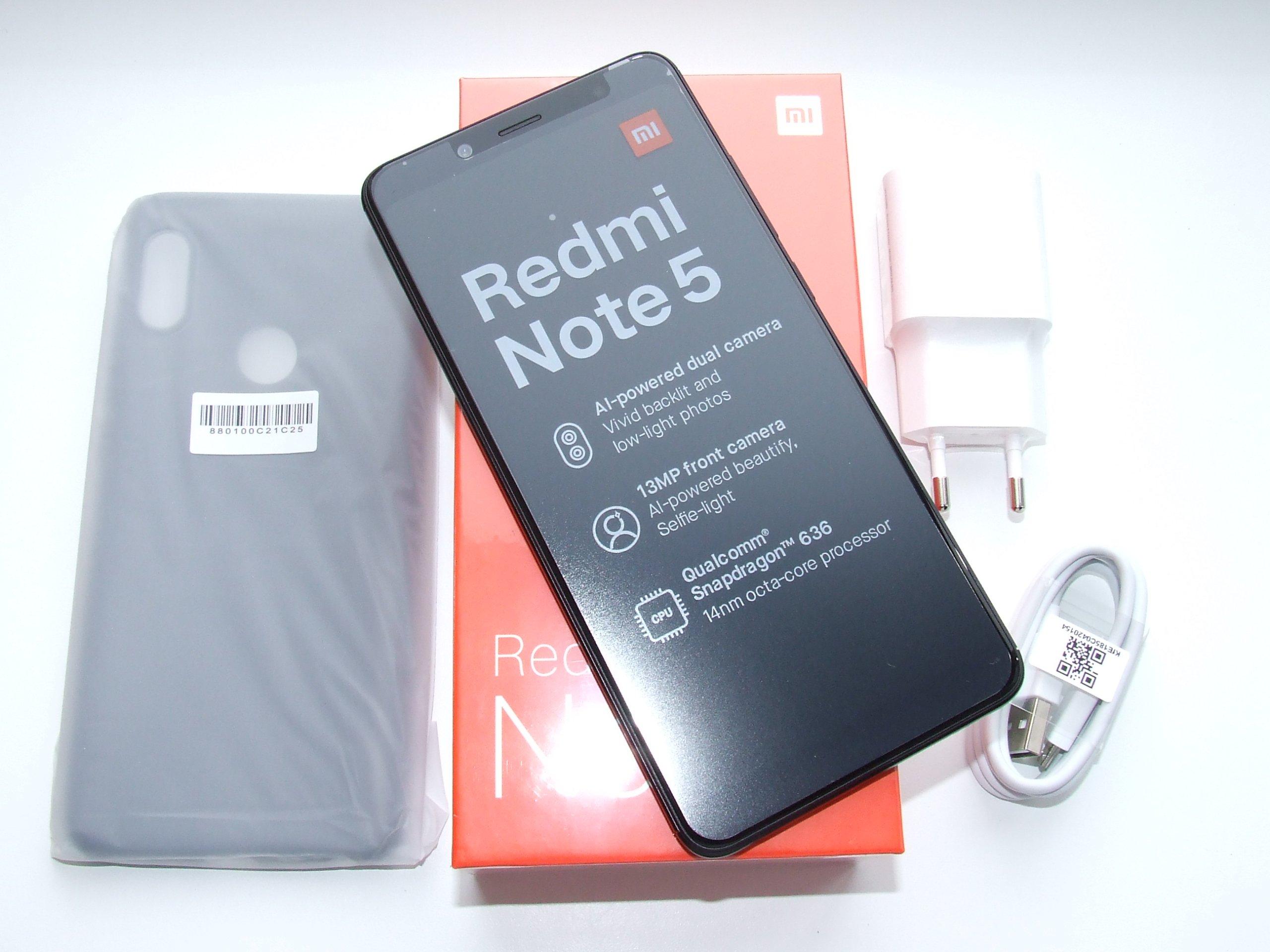 Xiaomi Redmi Note 5 4 64gb Black Eu Nowy 7418028382 Oficjalne