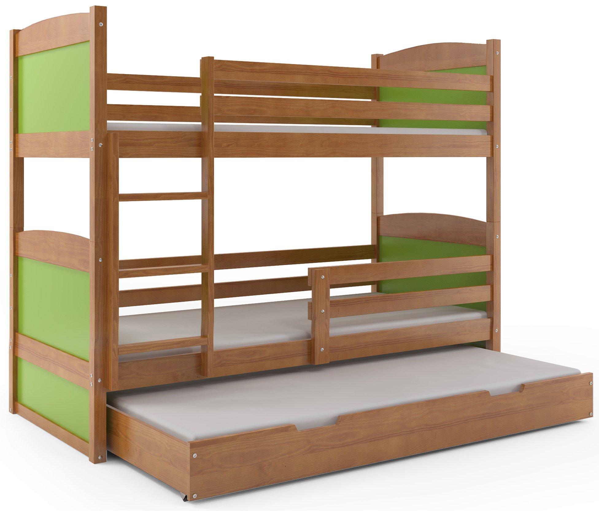 łóżko 3osobowe Dla Dzieci Rico 160x80 Stelaż 7283377079