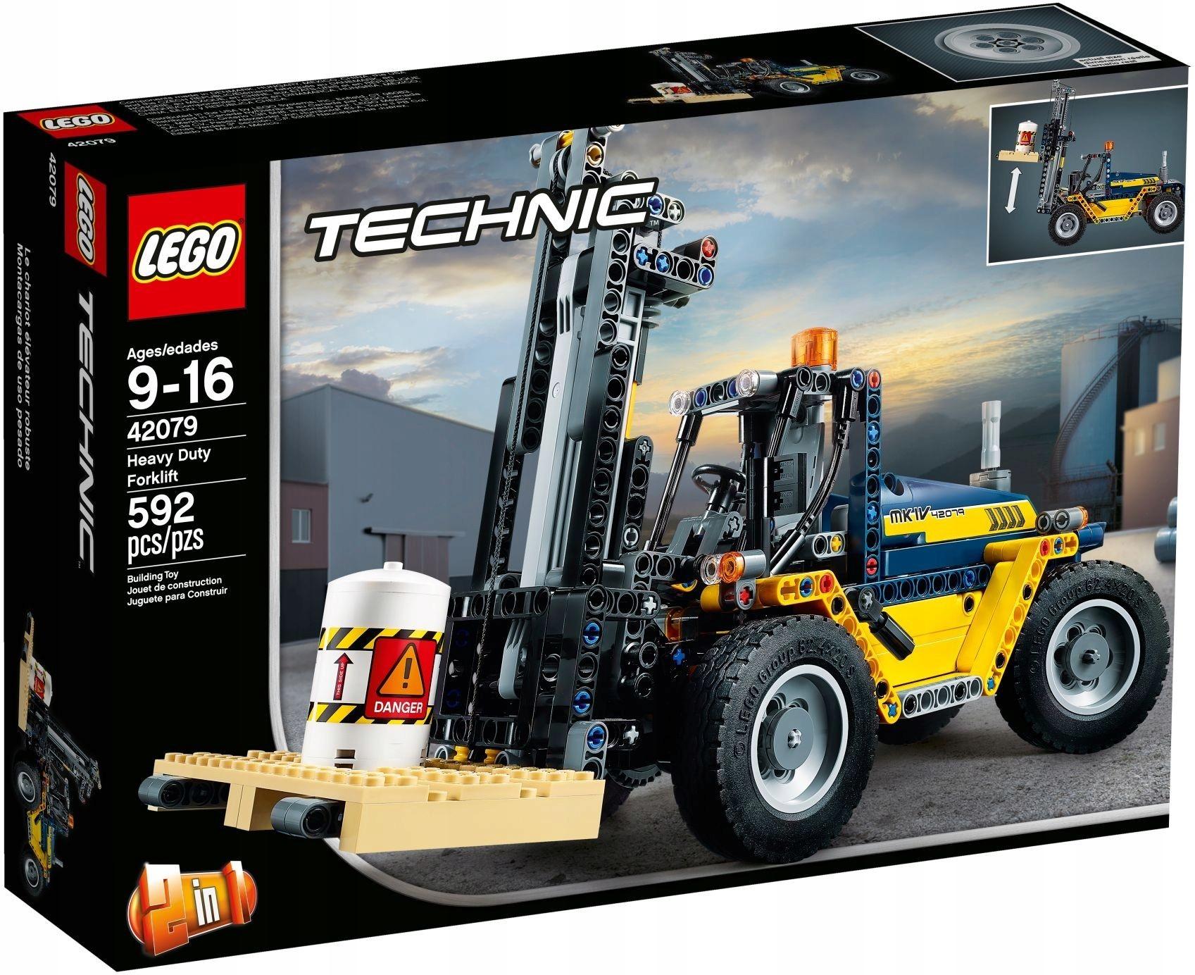 LEGO 42079 TECHNIC WÓZEK WIDŁOWY 24H FV