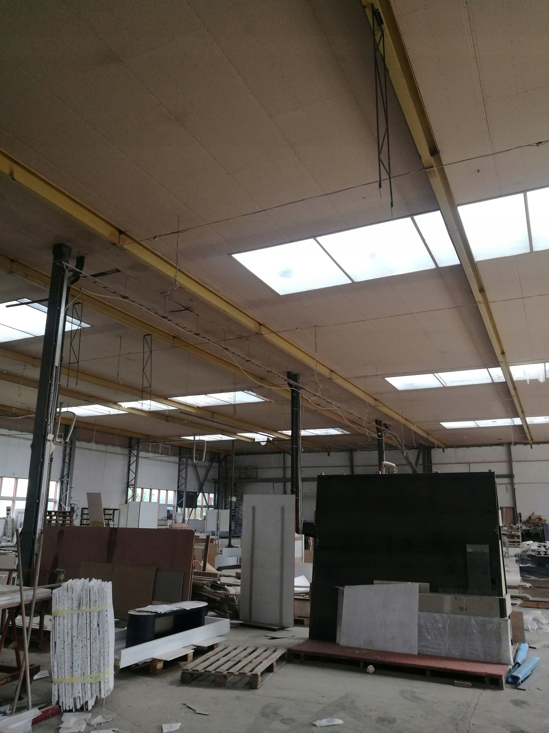 Najnowsze Hala stalowa konstrukcja stalowa używana 32mx64m - 7532921002 AQ96