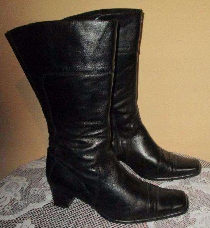 196b4664 Włoskie buty kozaki Prialpas Gomma skórzane 38 - 7711816112 ...