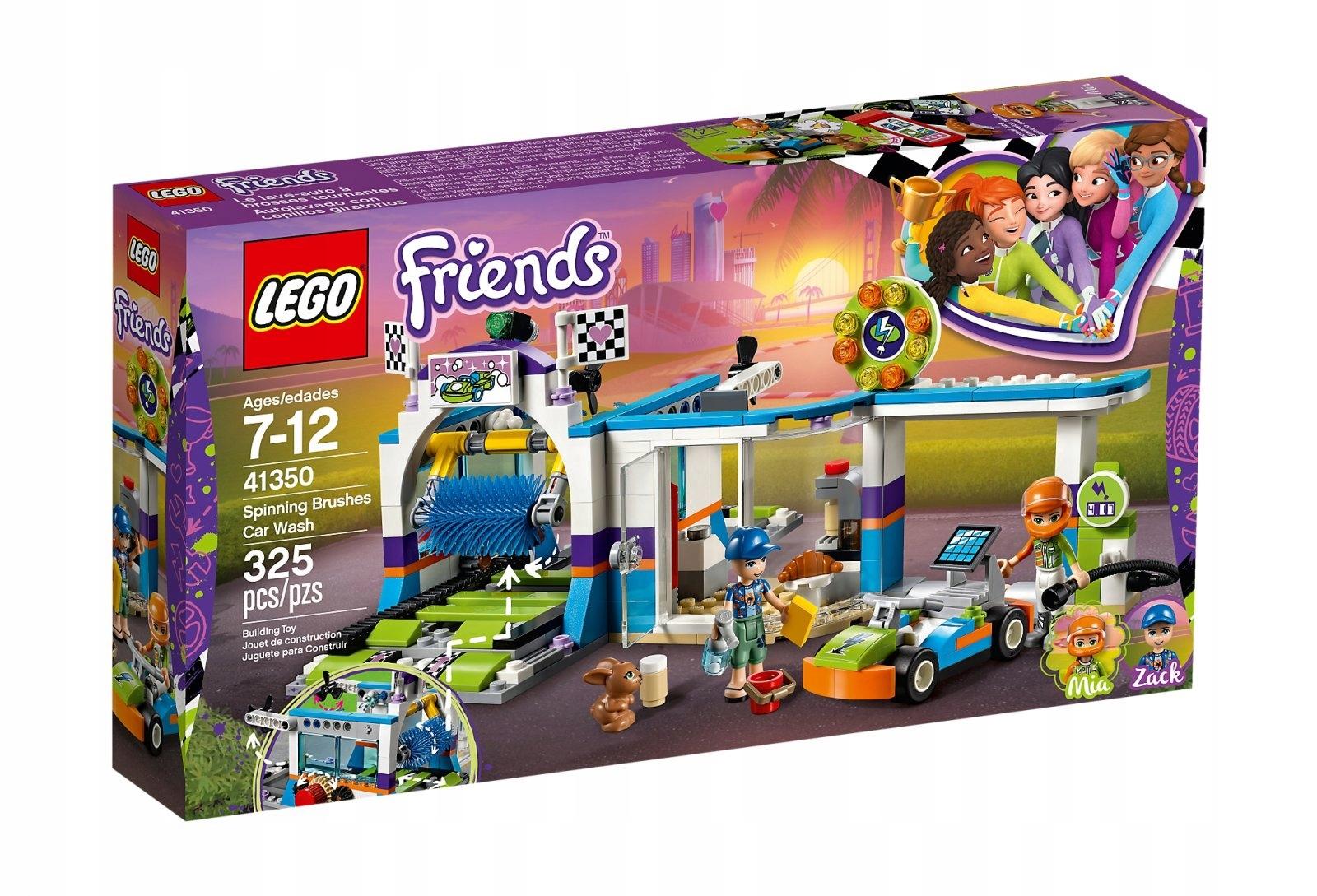 Lego 41350 Friends Myjnia Samochodowa Promocja 7466149974