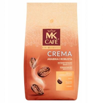 MK Caf Crema Kawa Ziarnista 1kg Karmel