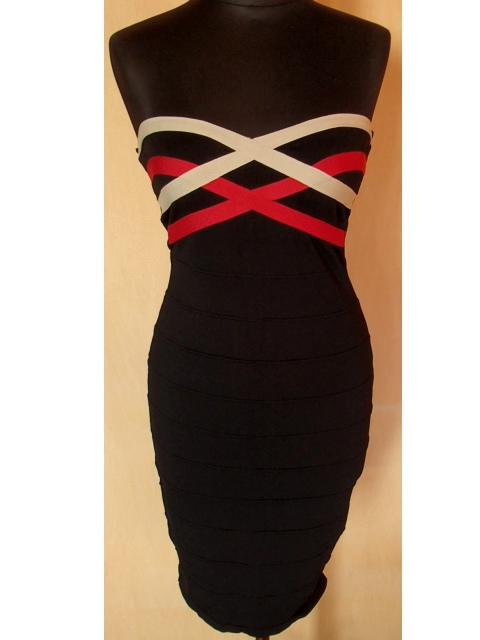 188e7e2d4e sukienka bandażowa H M bodycon - 7092857819 - oficjalne archiwum allegro