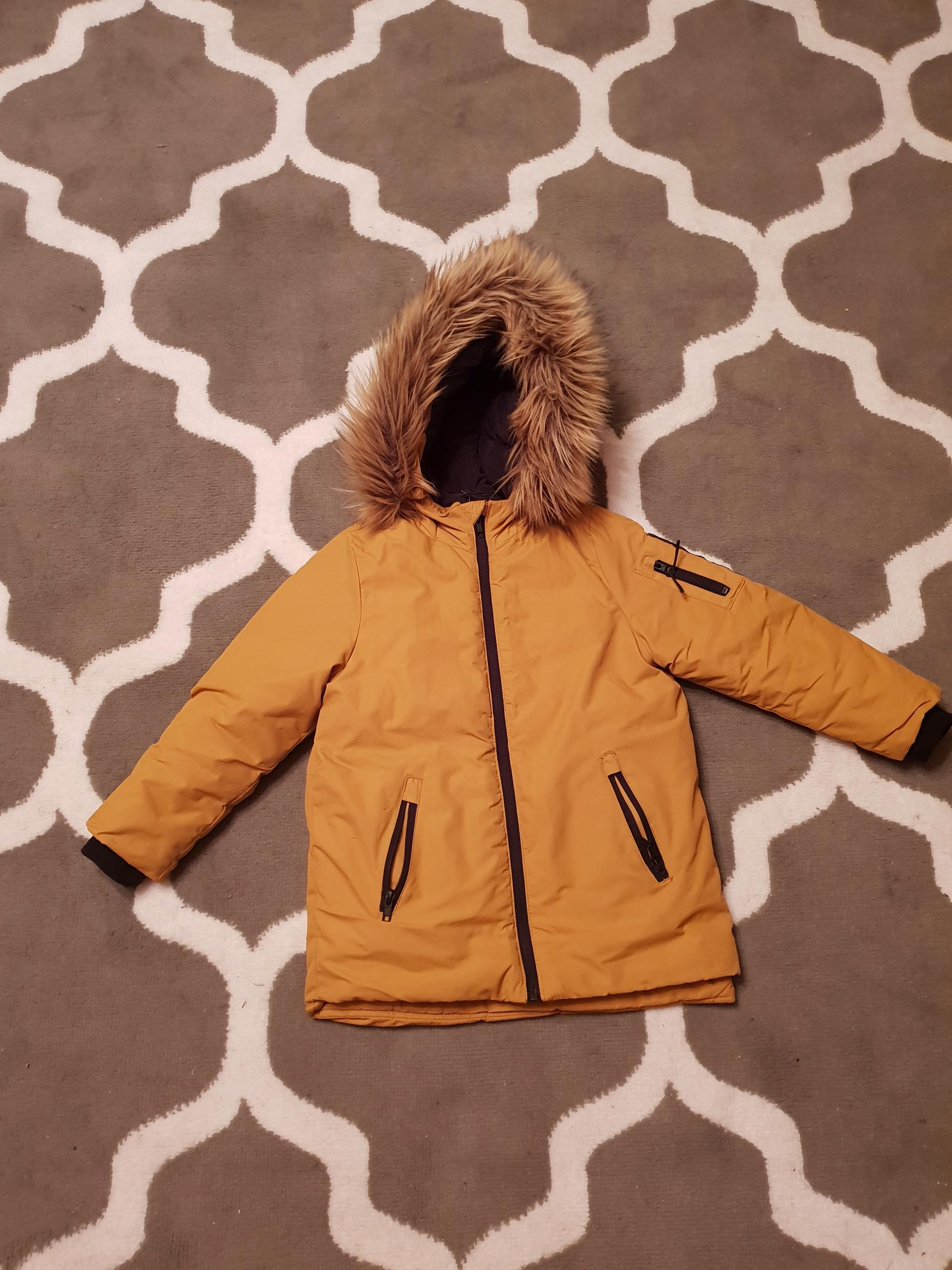 Kurtka zimowa Zara rozm 116