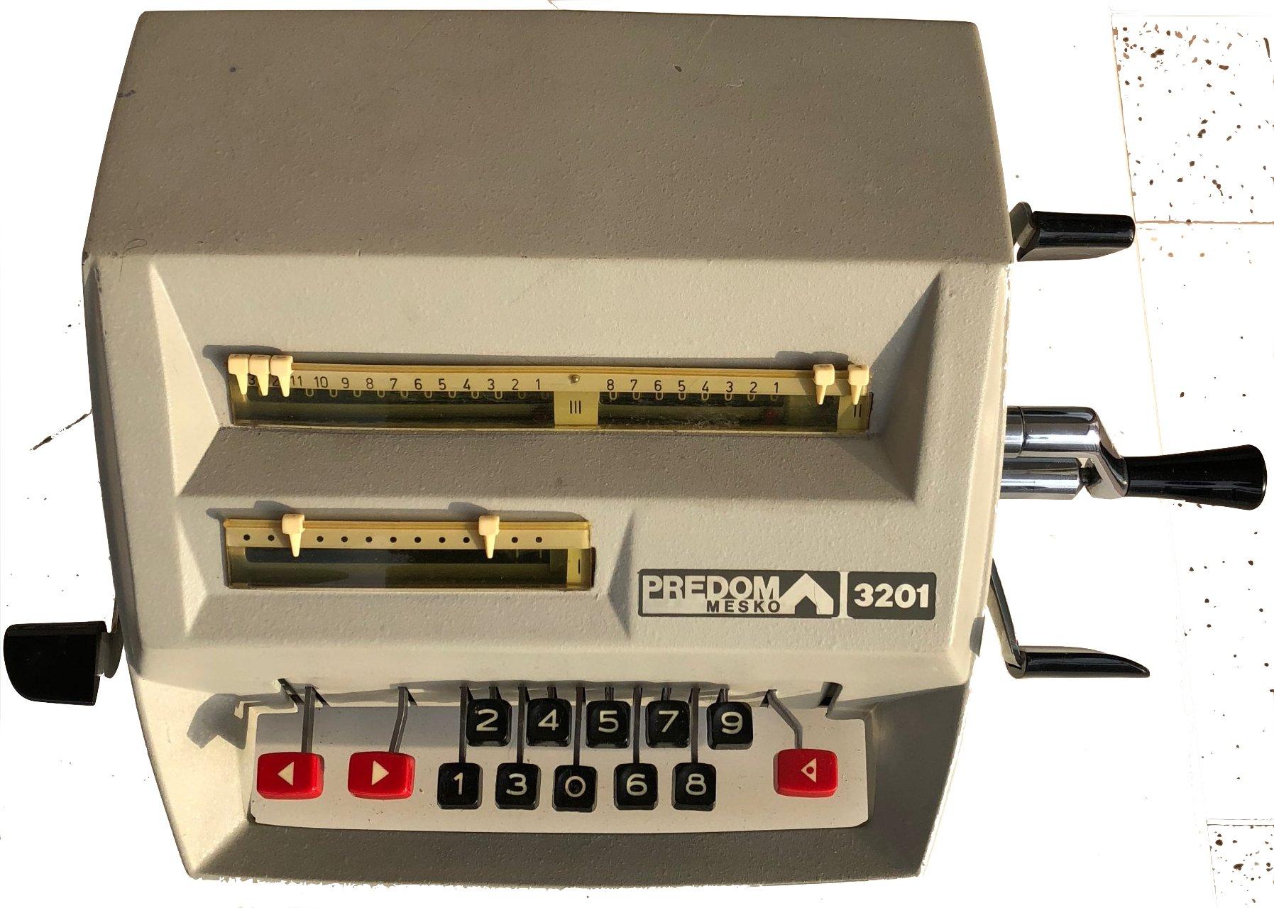 Oryginał Maszyna do liczenia PREDOM MESKO KR-13 - 7331154785 - oficjalne GF45