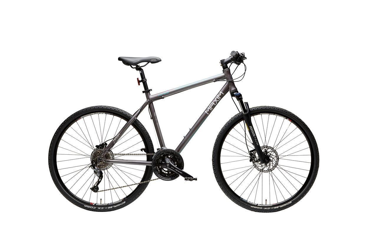 Rower crossowy 28'' MAXIM MX 5.5 22'' Grafitow R17