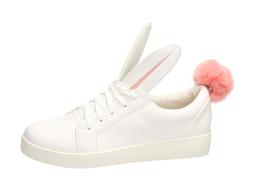 9a80ed80d2ed9 Białe buty damskie VICES 7117-41 KRÓLICZEK r36 - 6940658879 ...