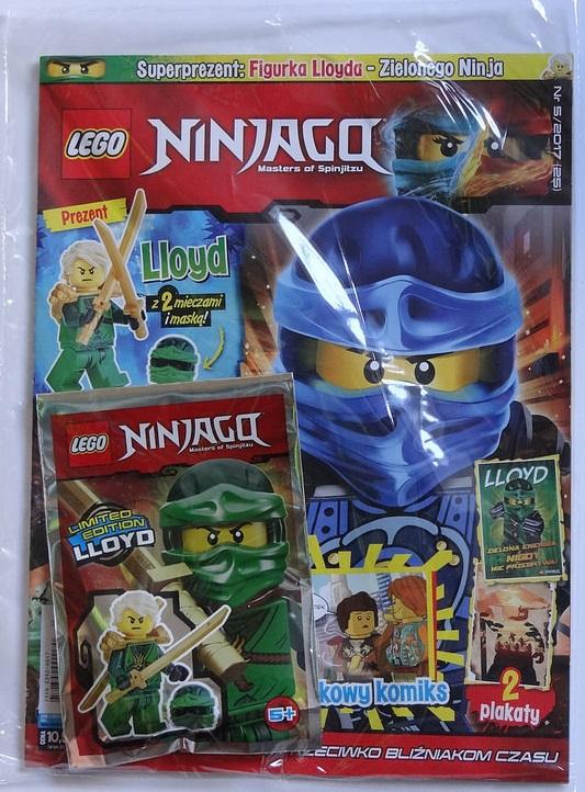 Lego Ninjago Lloyd Ninja Magazyn 52017 Nowy Folia 7079600218