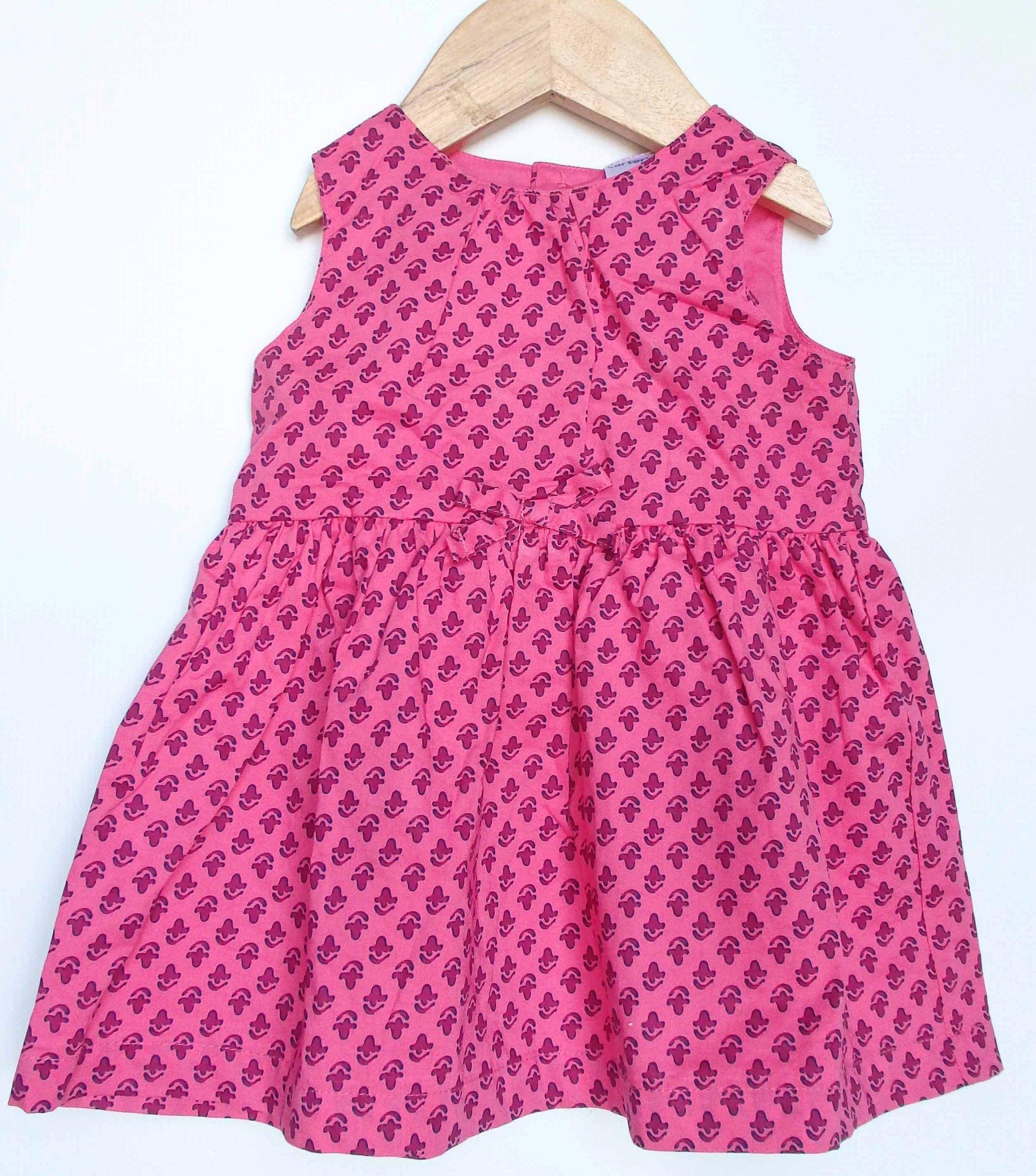 a67edba90a CARTER`S sukienka różowa letnia  68-74 6msc - 7332162909 - oficjalne ...