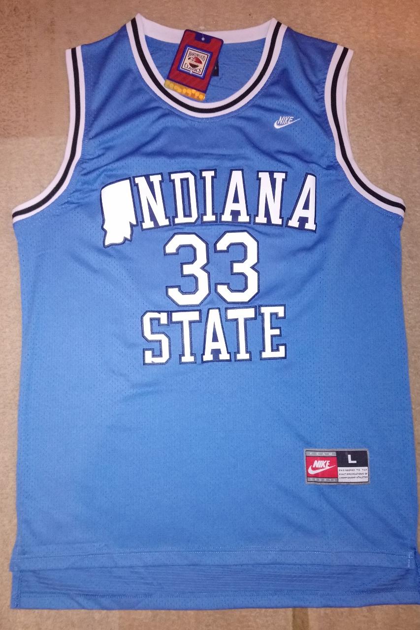 buy popular c9355 b9bde Larry Bird INDIANA STATE koszulka NBA / NCAA !