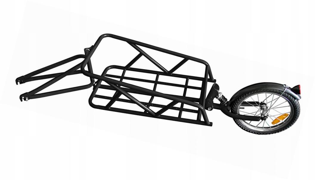 przyczepka do roweru La Rochelle 4303 #C