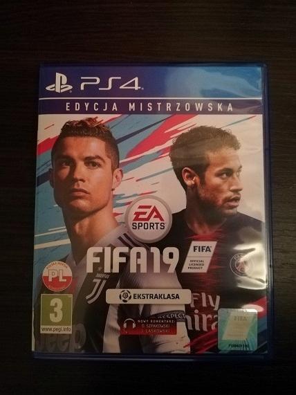 FIFA 19 - PEŁNA WERSJA PL - JAK NOWA