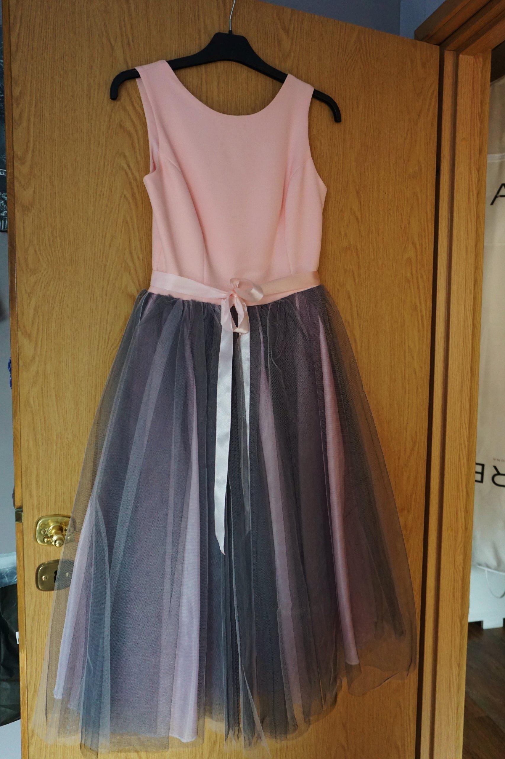 Piękna Sukienka Wesele Poprawiny 36 Tiulowa 6956456931 Oficjalne