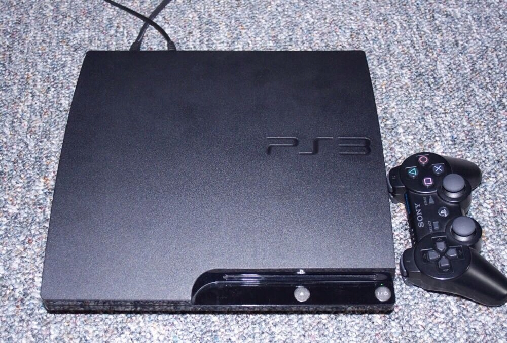 PS3 Slim 750GB 3.55 CFW Rebug Komplet! Gry!