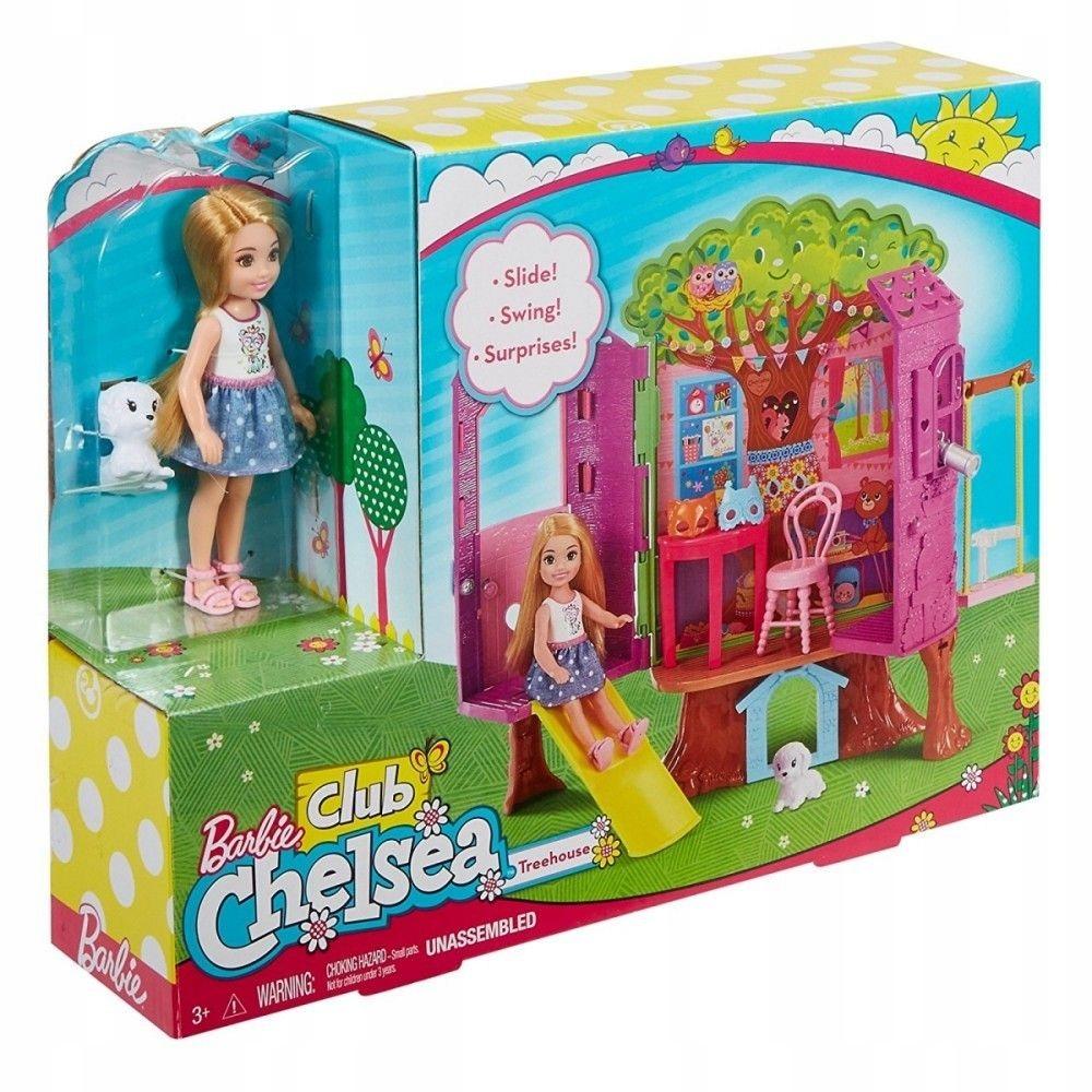 Mattel Barbie Chelsea Domek na drzewie