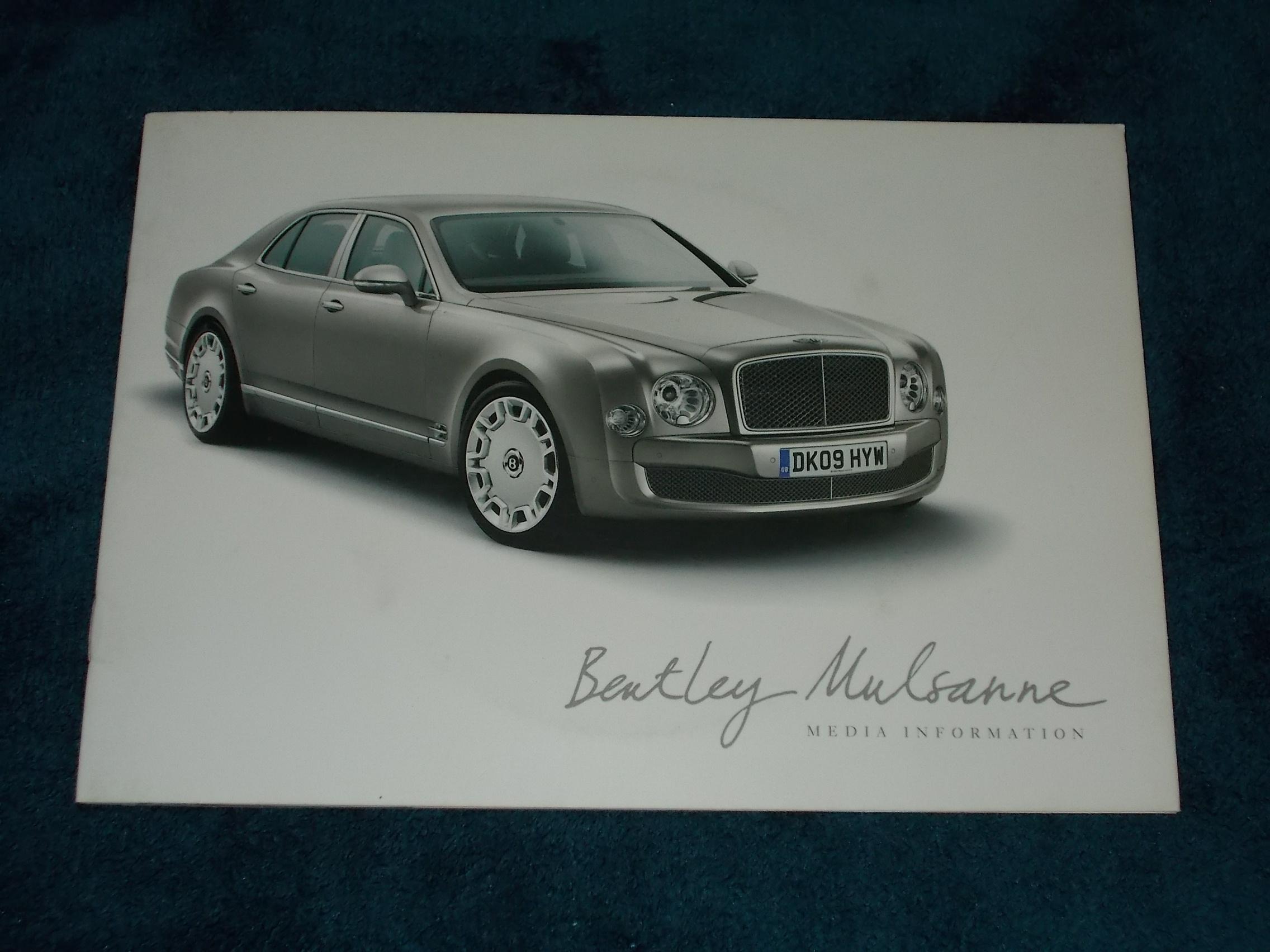 Bentley Mulsanne oficjalne archiwum allegro