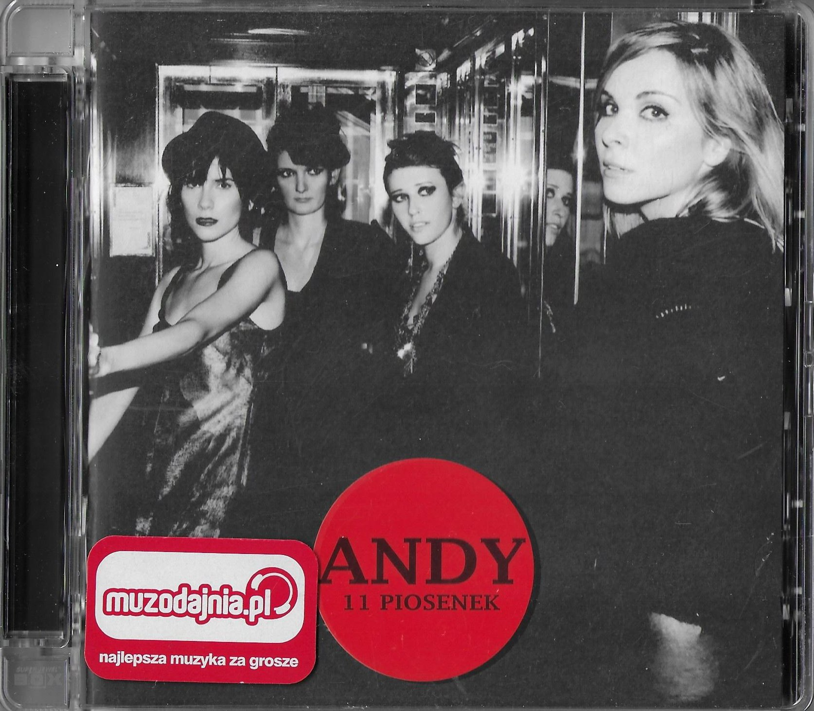 ANDY - 11 piosenek (CD)