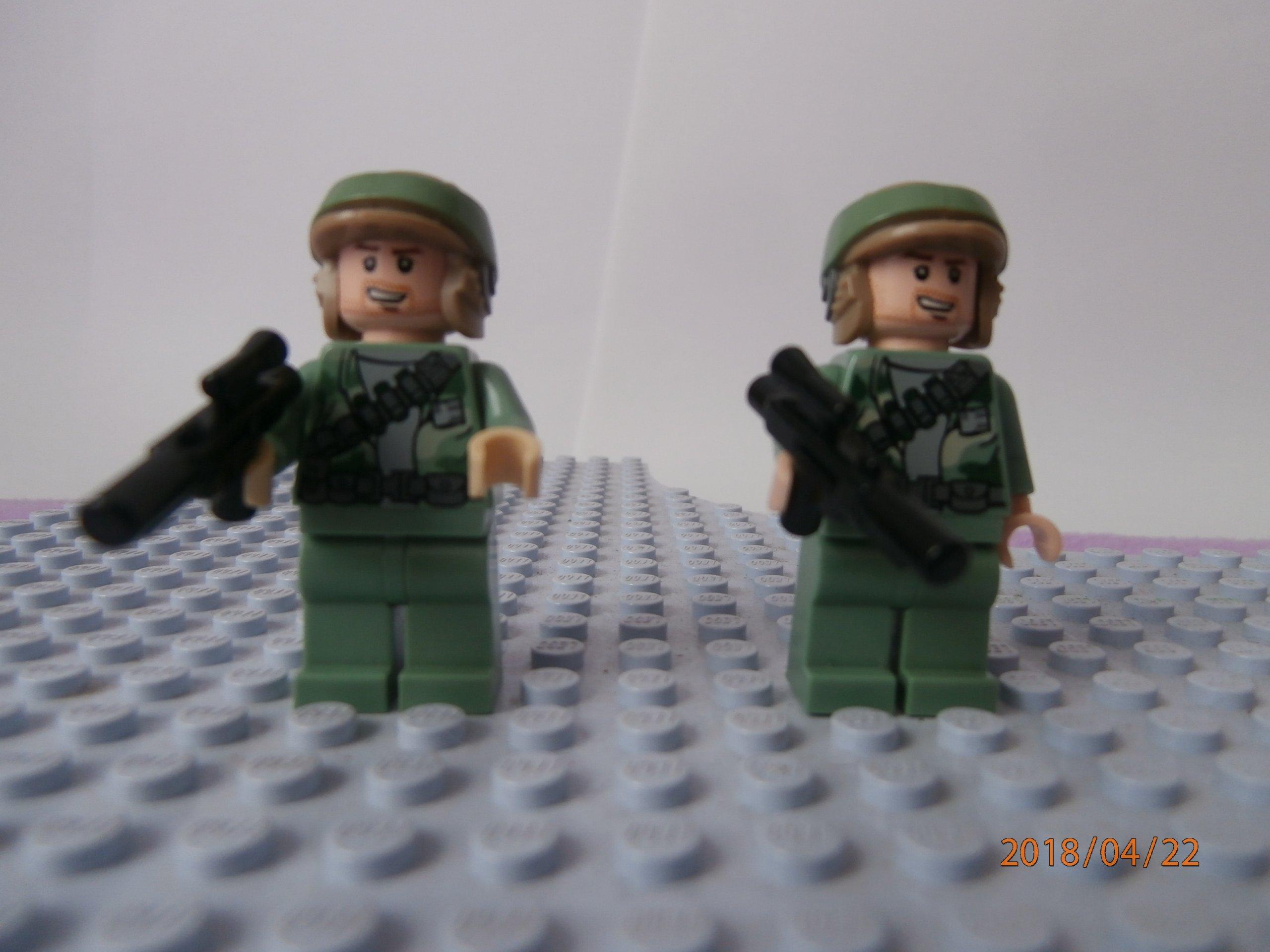 Lego Star Wars Figurki Zestaw 3 Rebelianci 7307010013