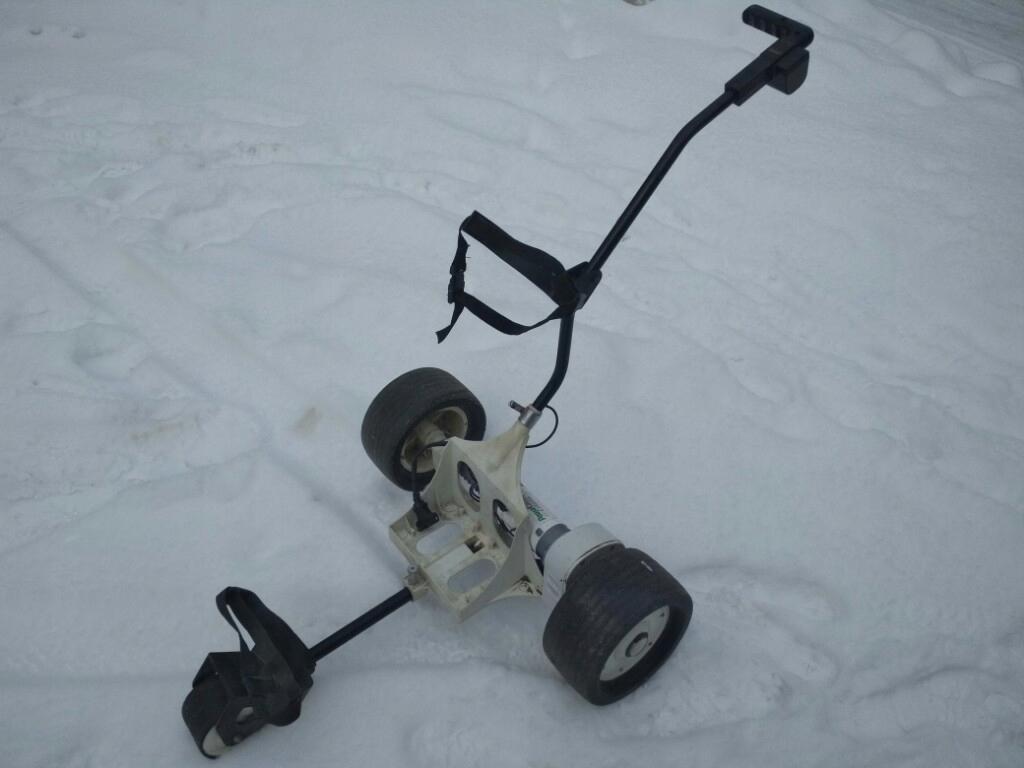 wózek do golfa elektryczny POWAKADDY CLASSIC aku
