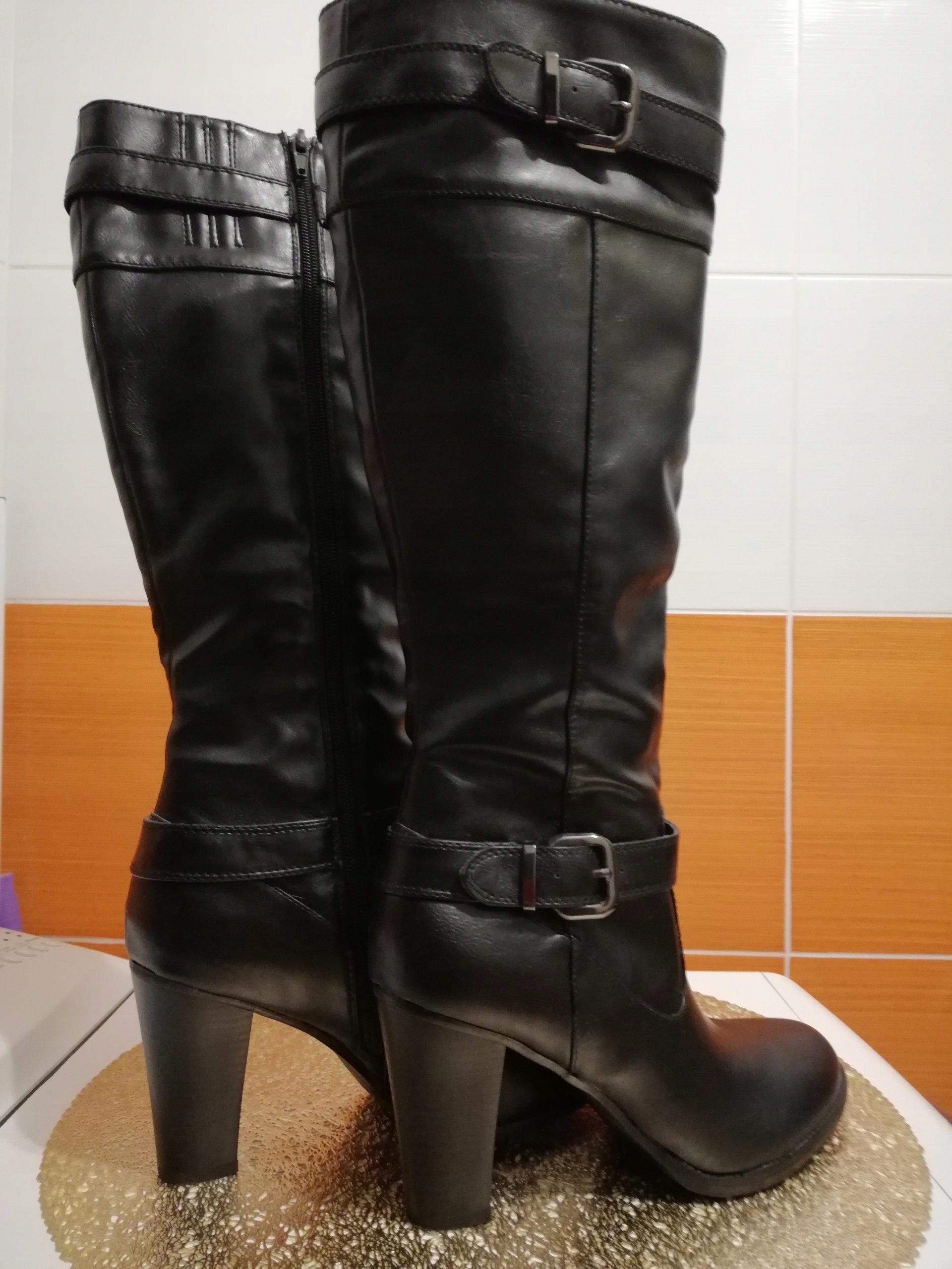 28769f41c589f Kozaki CCC roz. 39 buty damskie zima botki - 7578948061 - oficjalne ...